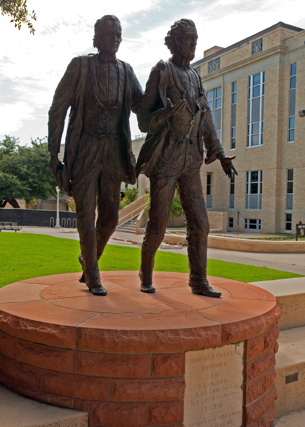 Clark Brothers Statue