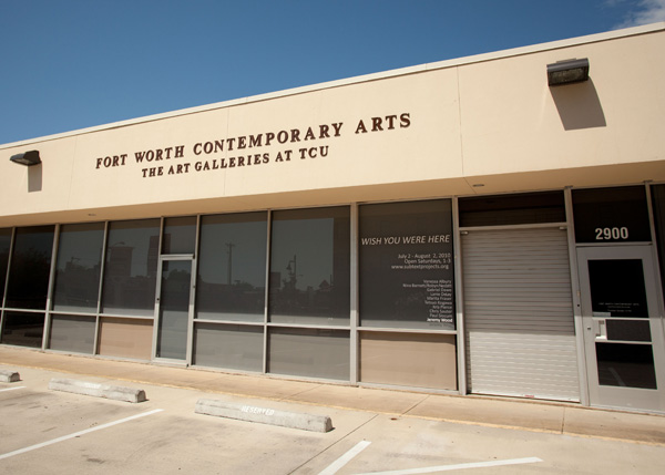 Fort Worth Contemporary Arts Gallery