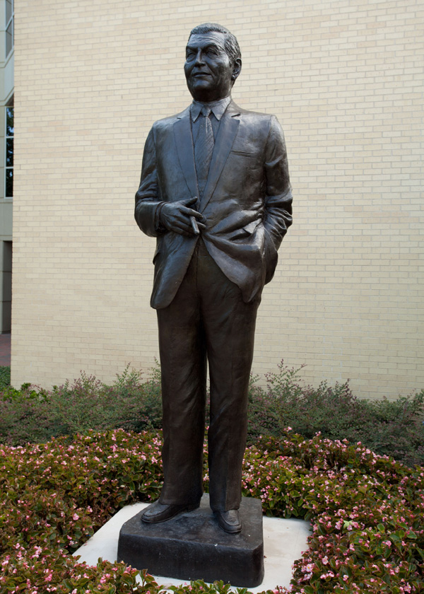 Charles D. Tandy Statue