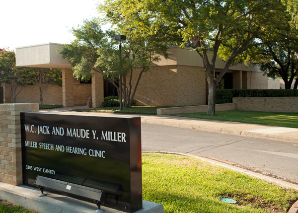 W.C. Jack and Maude Y. Miller Speech and Hearing Clinic