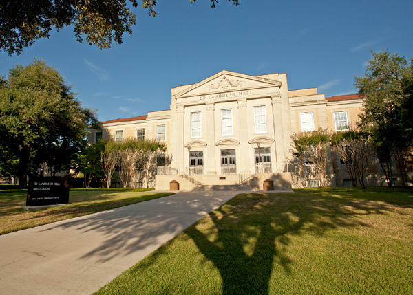 Ed Landreth Hall and Auditorium